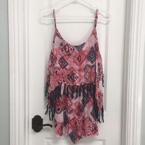 Dresses & Skirts - Fringed ROMPER M